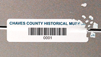 Barcode Tamper Evident Label on a Roll