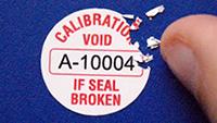 Destructible Label - Calibration Void If Broken