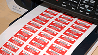 Print Your Tamper Proof Label – For Free!