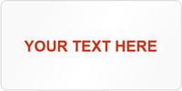 Tamper Labels, Custom Text