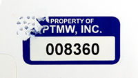 Sequentially Numbered Security Label