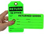 Returned Goods Tags