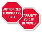 Stop Sign Destructible Labels