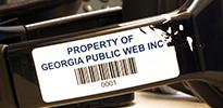 Tamperproof Security Barcode Labels
