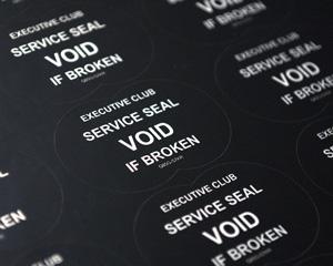 Inspected Label – Tamper Proof Materials