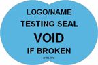 Testing Seal - Void if Broken Label