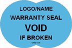 Warranty Seal - Void if Broken Label