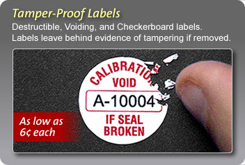 Add barcodes and numbering to your labels. Make it easy to track your  equipment.