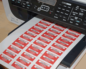 500pcs Warranty Protection Sticker 1.57